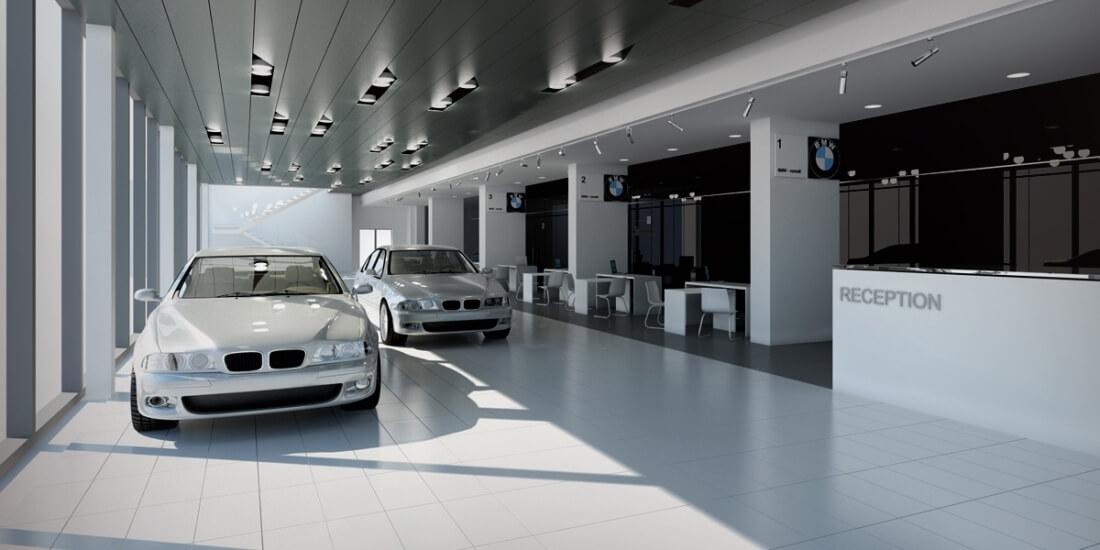 Автосалон BMW в Минске