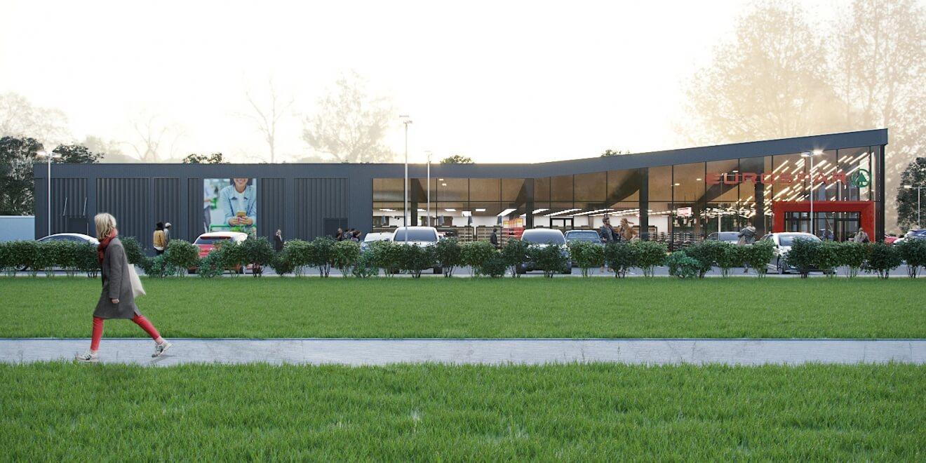 Магазин EUROSPAR в Пинске