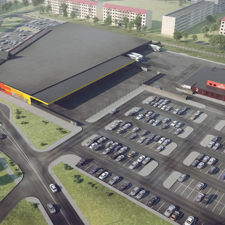 Строительный гипермаркет KRAFTER в Барановичах
