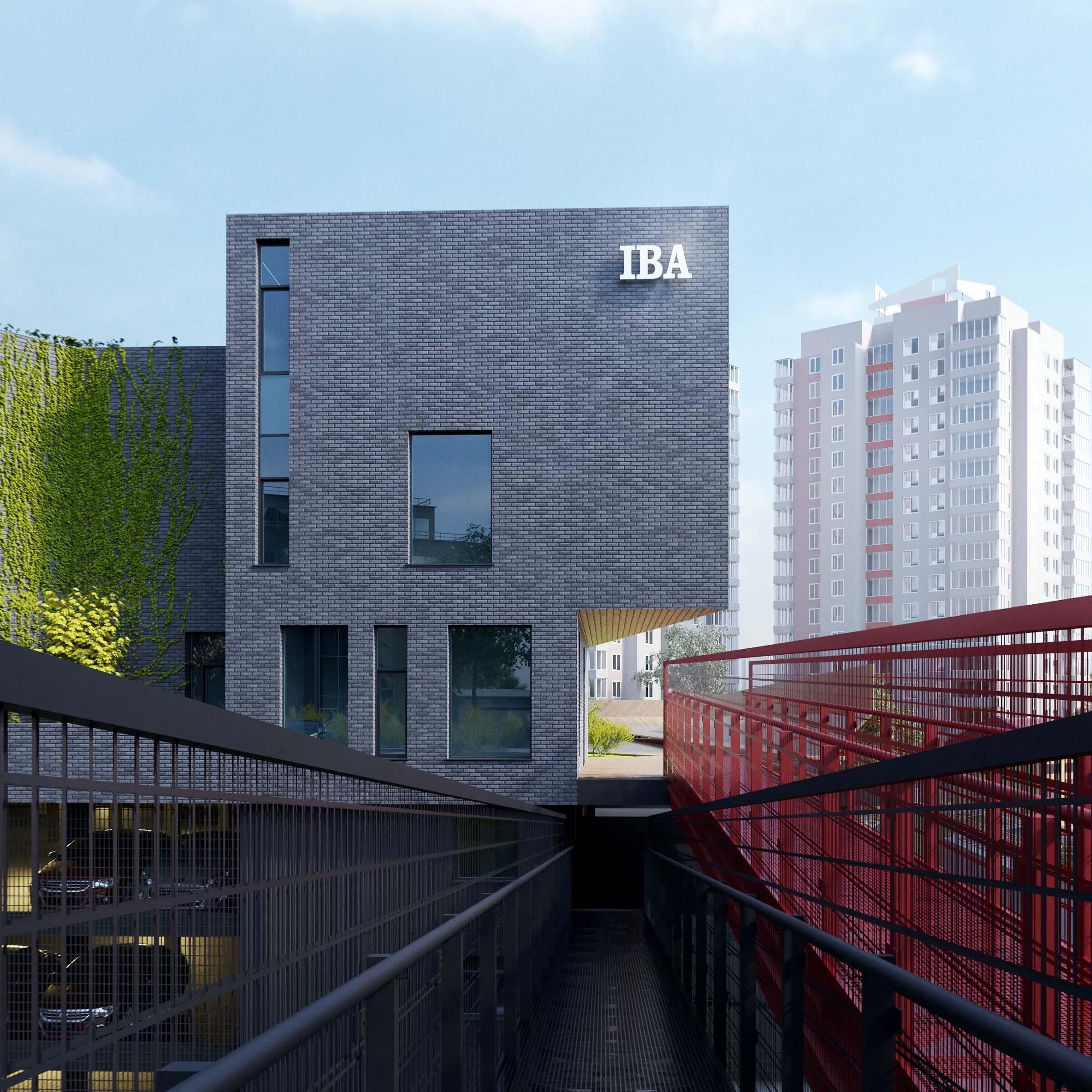 Концепция офисных блоков IBA Group