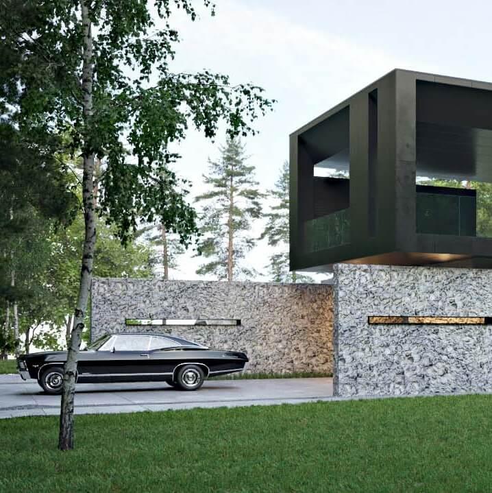 Дом Stoneplate
