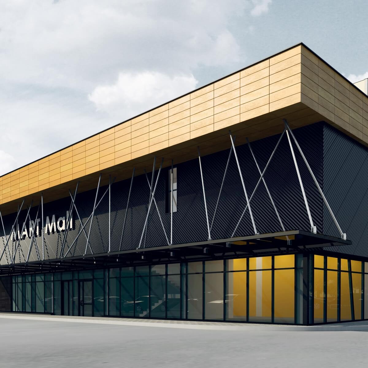 Торговый комплекс в Бобруйске