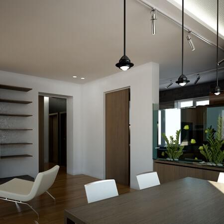Интерьер частного дома в Минске