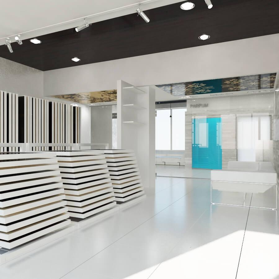 Интерьер шоурума Parquet boutique