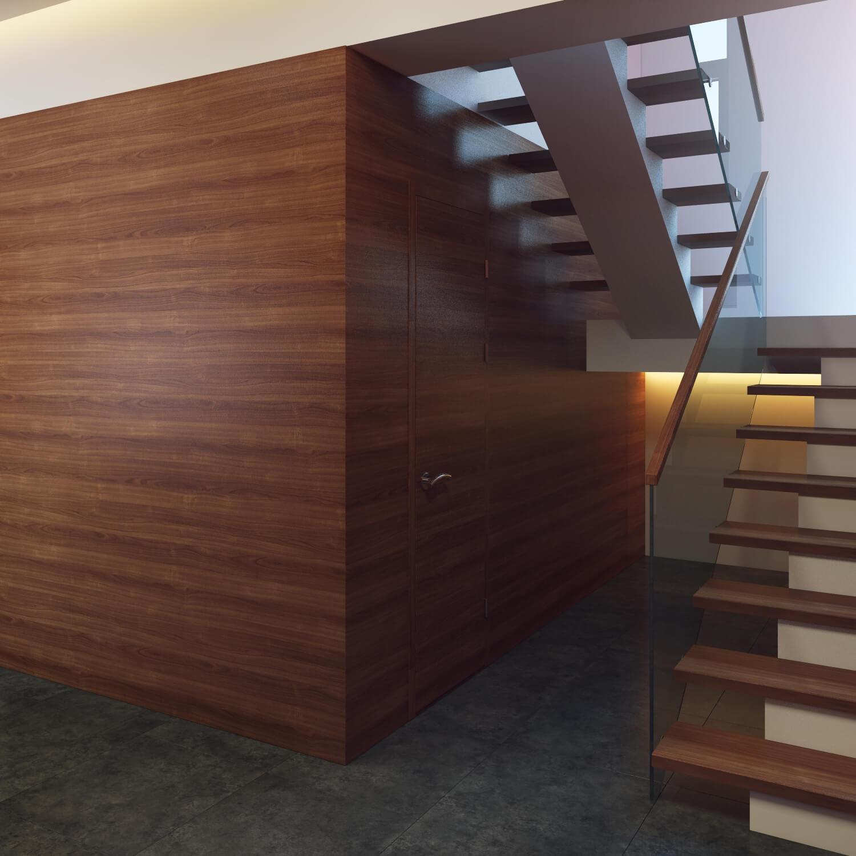 Интерьер частного дома N21 в Минске