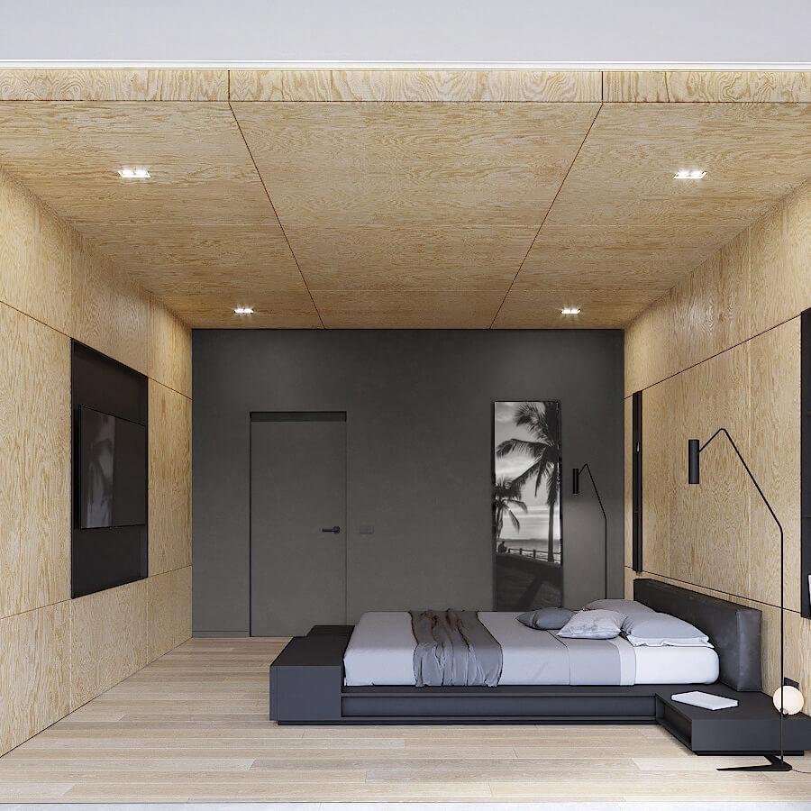 Интерьер спального блока S27