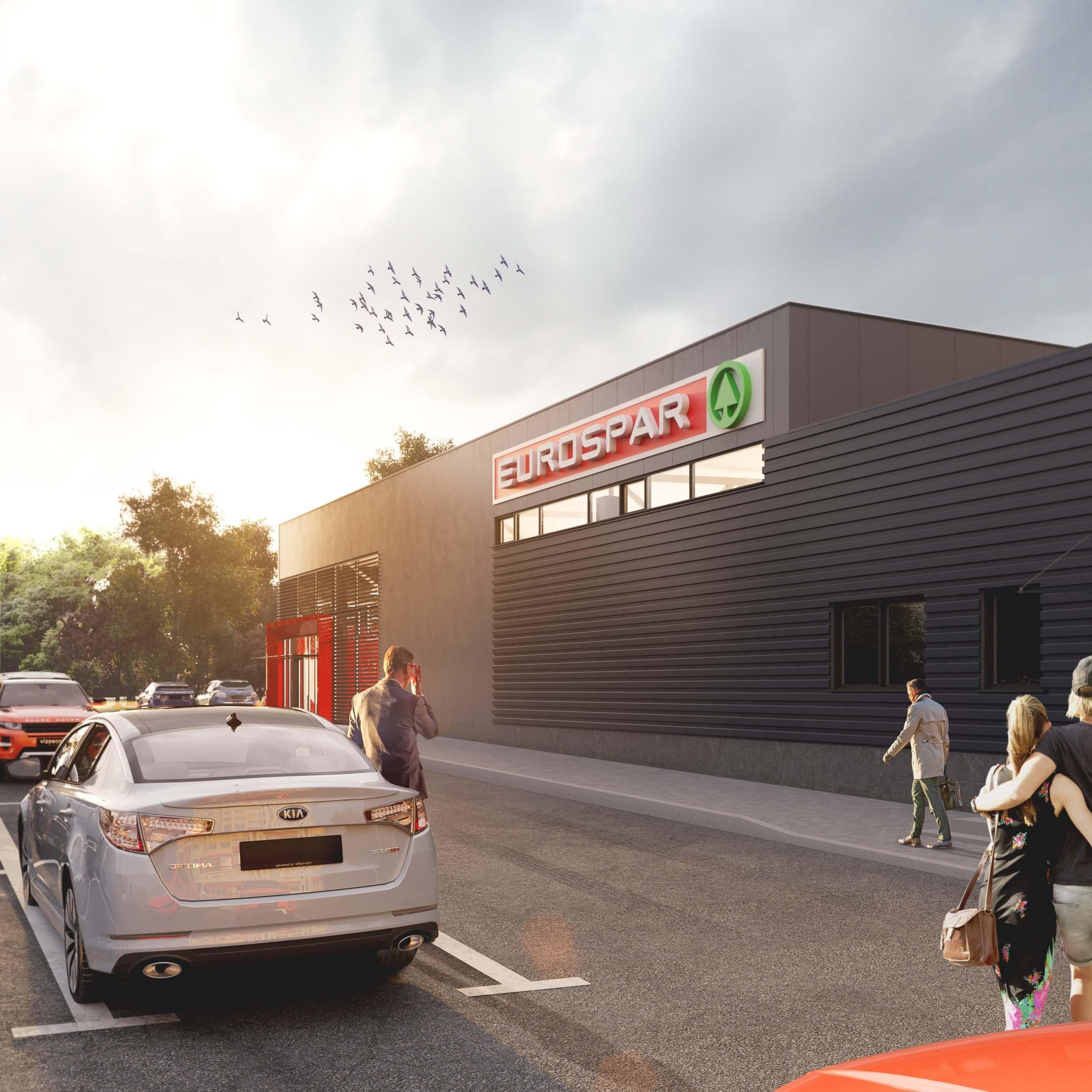 Магазин EUROSPAR в Мозыре