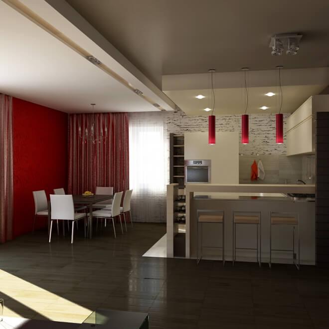 Интерьер частного дома под Минском