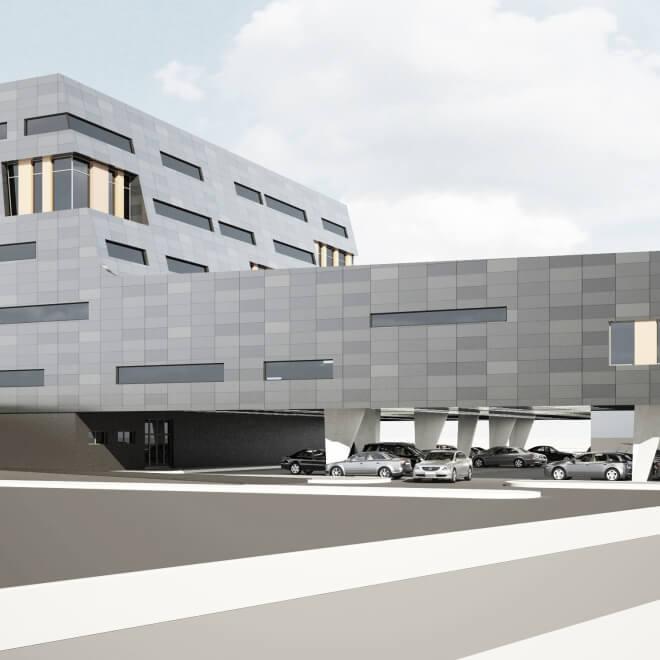 Торговый комплекс в Минске (ул. Матусевича)