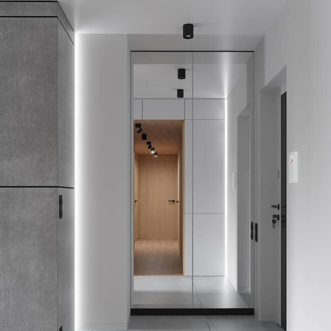 Интерьер квартиры D115